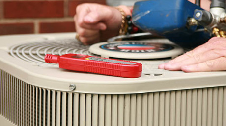 Air conditioning replacement supports and services