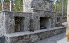Outdoor Fireplace – Improves the Valuation of the Property