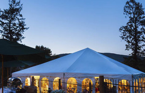 Turn your dream into reality with wedding tent rentals