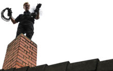 How to execute the process of chimney flue cleaning?