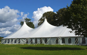 What size wedding tent do I need?